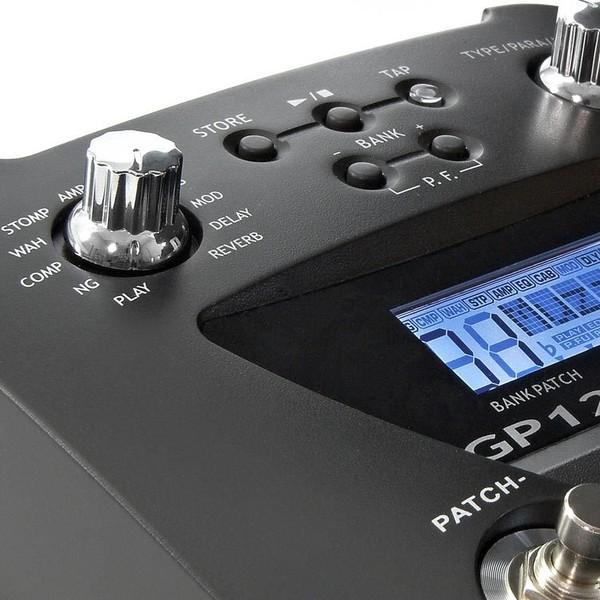 Yamaha SG1820A SG Modern Electric Guitar, Black with GP120 Pedal  - Pedal Control