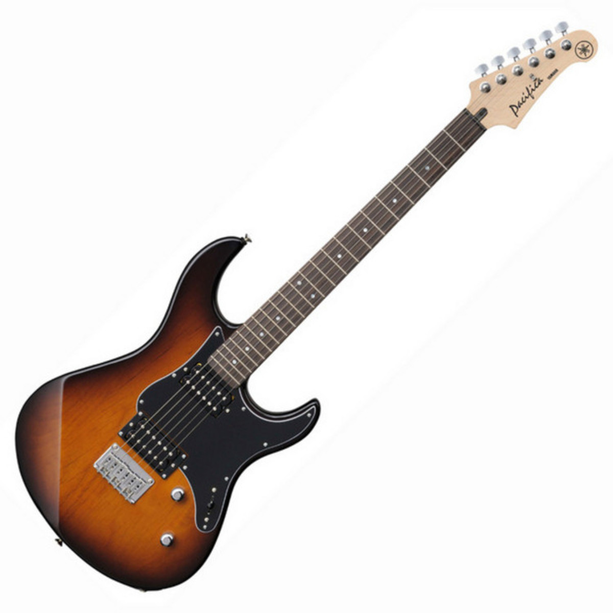 Yamaha pacifica 120h electric guitar tobacco sunburst at for Where are yamaha guitars made