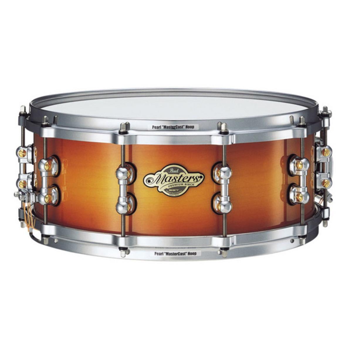 pearl masters premium snare drum 14 x 6 5 sapphire sunburst at. Black Bedroom Furniture Sets. Home Design Ideas