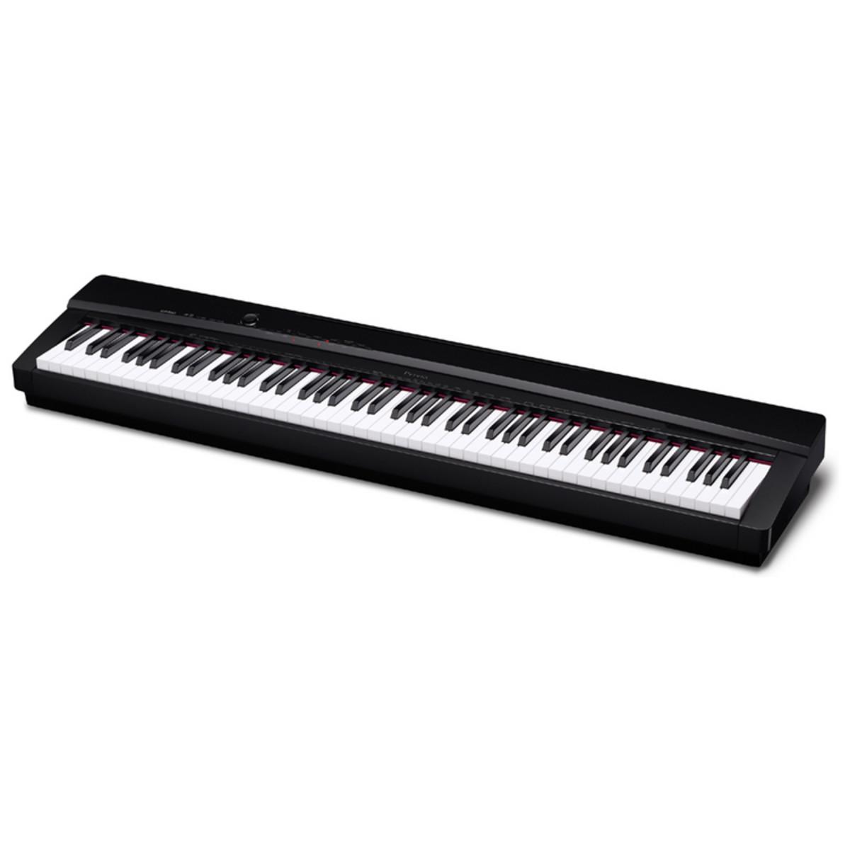 casio px 135 digital piano black at. Black Bedroom Furniture Sets. Home Design Ideas