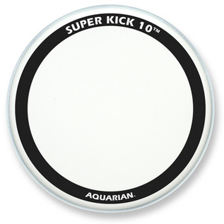 Aquarian Super Kick 10 Clear Double Ply 18