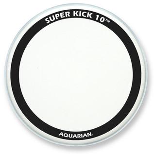 Aquarian Super Kick 10 Clear Double Ply 24