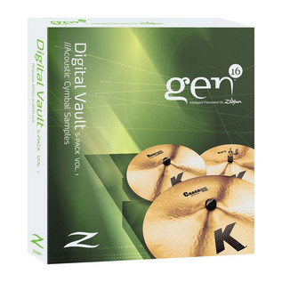 Gen16 by Zildjian S-Pack Volume 1 - K Series Cymbals