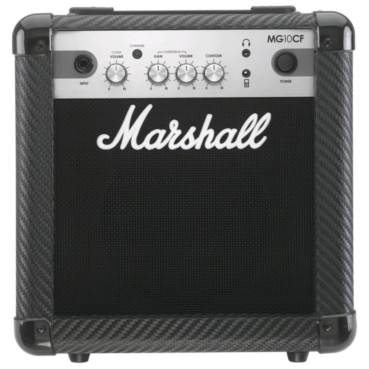 Image of Marshall MG10CF Carbon Fibre 10W Guitar Combo