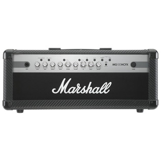 Marshall MG100HCFX Carbon Fibre 100W Footswitchable Guitar Amp Head