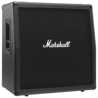 Marshall MG412ACF Carbon Fibre 120W Angled Cab for MG100HCFX