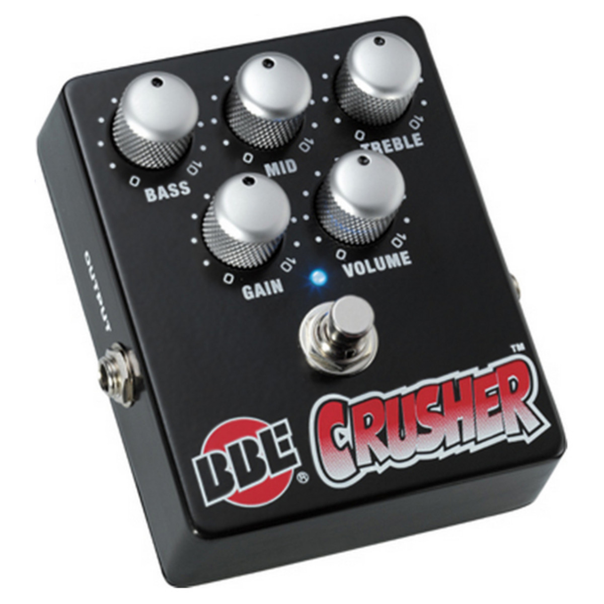 DISC BBE Crusher Distortion Effects Pedal at Gear4music.ie