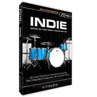 XLN Audio INDIE ADpak Expansion for Addictive Drums