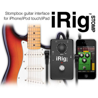 IK Multimedia iRig STOMP Guitar Stomp Box Interface for iPhone