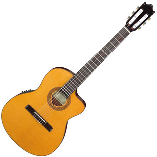 Ibanez G5TECE Classical Thin body Cutaway Guitar, Amber