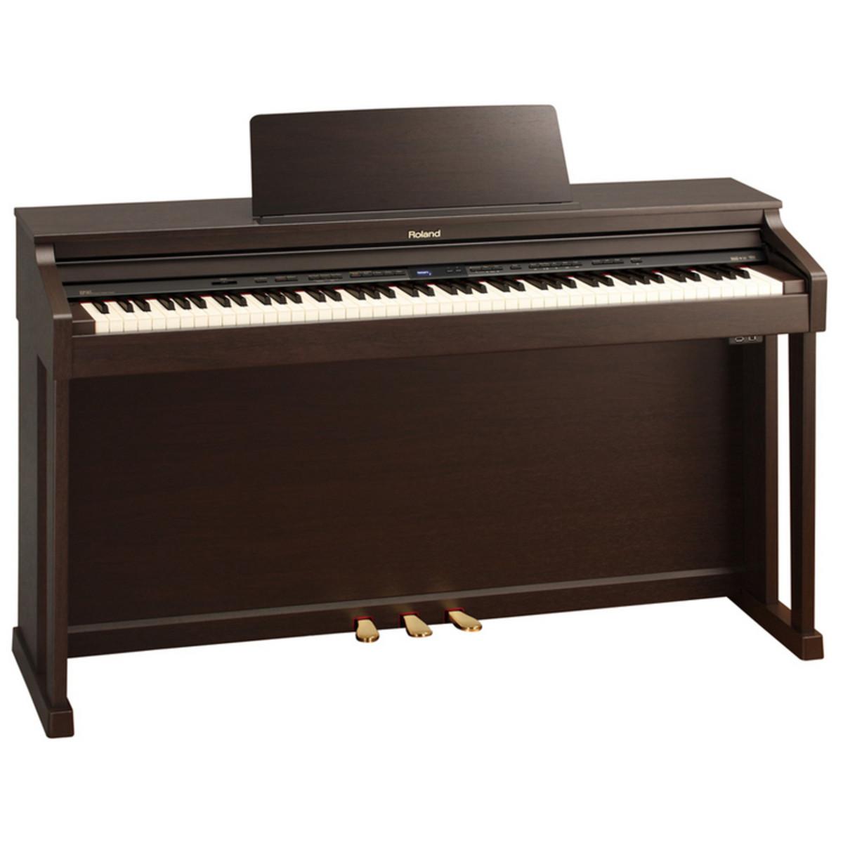 Roland hp503 pianoforte digitale supernatural palissandro for Generatore di piano