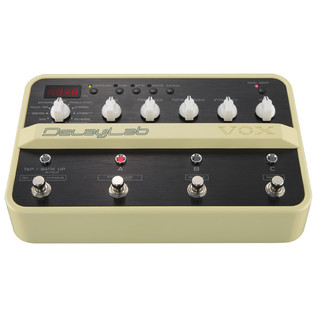 VOX DelayLab Delay Effects Pedal - front