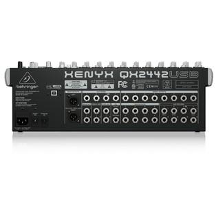Behringer XENYX QX2442USB USB Mixer - rear