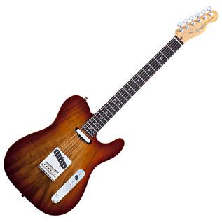 Fender Select Koa Top Telecaster, Sienna Edge Burst
