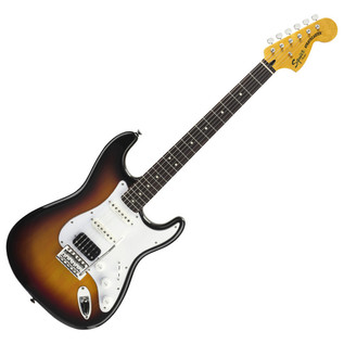 Squier by Fender Vintage Modified HSS Stratocaster, 3 Tone Sunburst