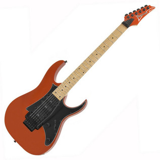 Ibanez RG350MZ Electric Guitar, Roadster Orange Met
