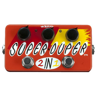 Z.VEX Super Duper 2in1 Hand Painted Guitar Pedal
