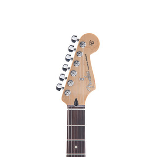 Fender Roland VG Stratocaster G5 Electric Guitar, Black - Headstock