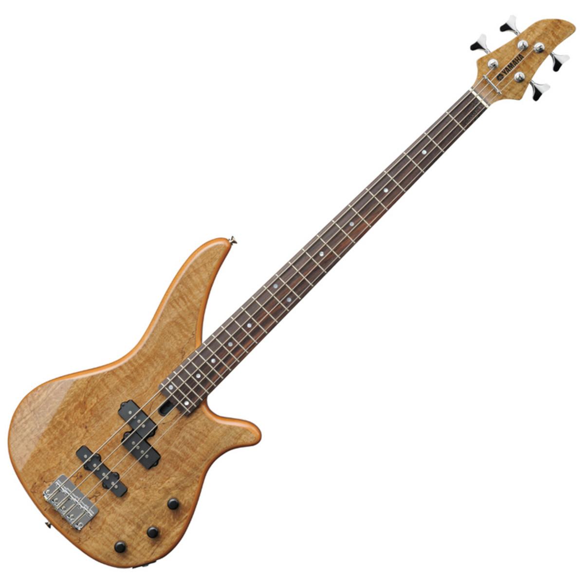 Disc yamaha rbx170ew exotic wood bass guitar natural at for Yamaha bass guitars