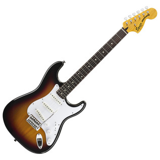 Squier by Fender Vintage Modified Stratocaster, 3 Tone Sunburst