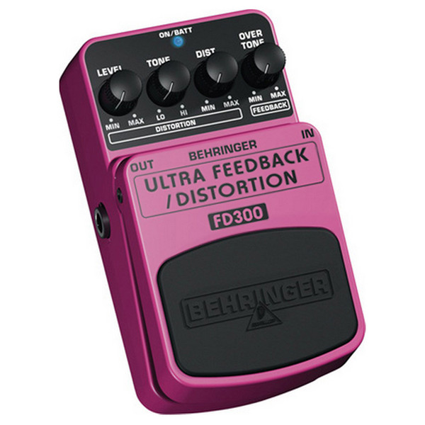 Behringer FD300 Ultimate Feedback/Distortion Effects Pedal
