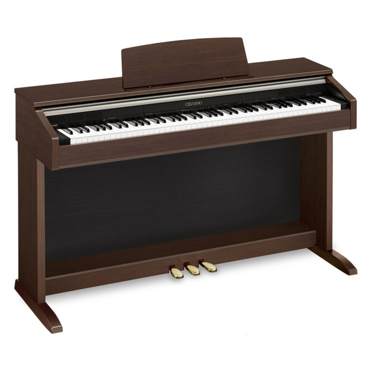 casio celviano ap 220 digital piano brown box opened at. Black Bedroom Furniture Sets. Home Design Ideas