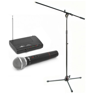 TS-331H Wireless Microphone System and Stand Pack by Gear4music