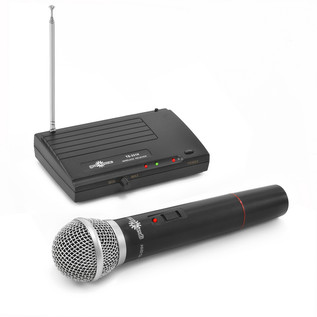 TS-331H Wireless Microphone System and Stand Pack by Gear4music - mic + receiver