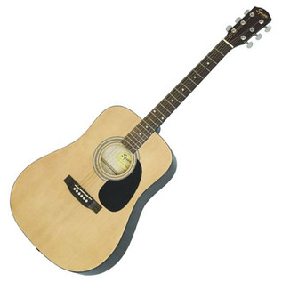 Squier by Fender SA-105 Acoustic Guitar, Natural
