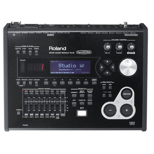 Roland TD-30K+P Module Front Roland TD-30K V-Pro Electronic Drum Kit