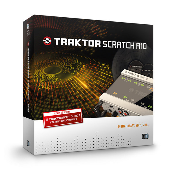 Native Instruments Traktor Scratch Audio 10 USB Audio Interface