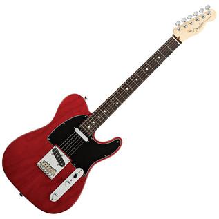 Fender American Standard Telecaster 2012 RW, Crimson Red Transparent