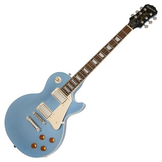 Epiphone Les Paul Standard Electric Guitar, Pelham Blue
