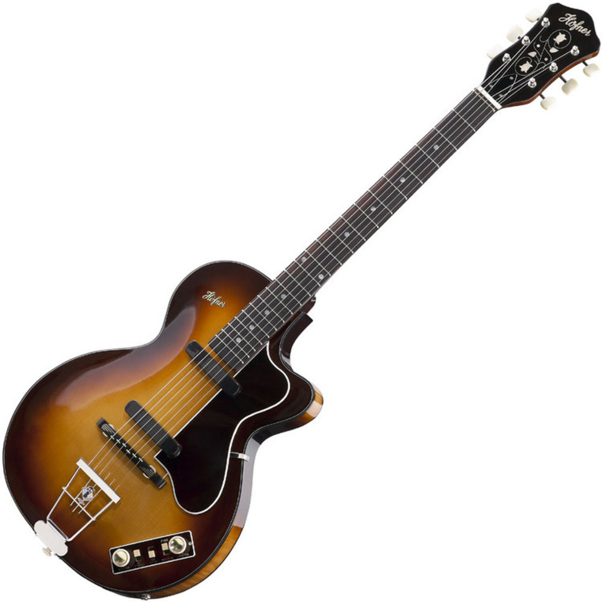 Hofner Electric Guitar : hofner club 50 electric guitar sunburst at ~ Hamham.info Haus und Dekorationen