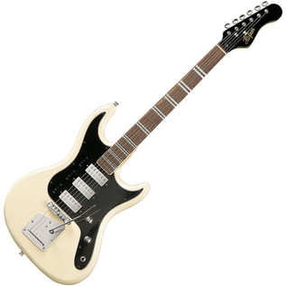 Hofner HCT Galaxie Electric Guitar, White