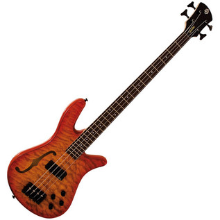 Spector Bass Pro Series Spectorcore 4 Piezo Bass Guitar, Flamed Amber