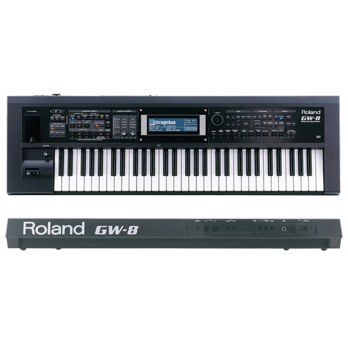 roland gw 8 keyboard workstation nearly new at. Black Bedroom Furniture Sets. Home Design Ideas