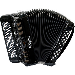 Roland FR-7XB V-Accordion, Black