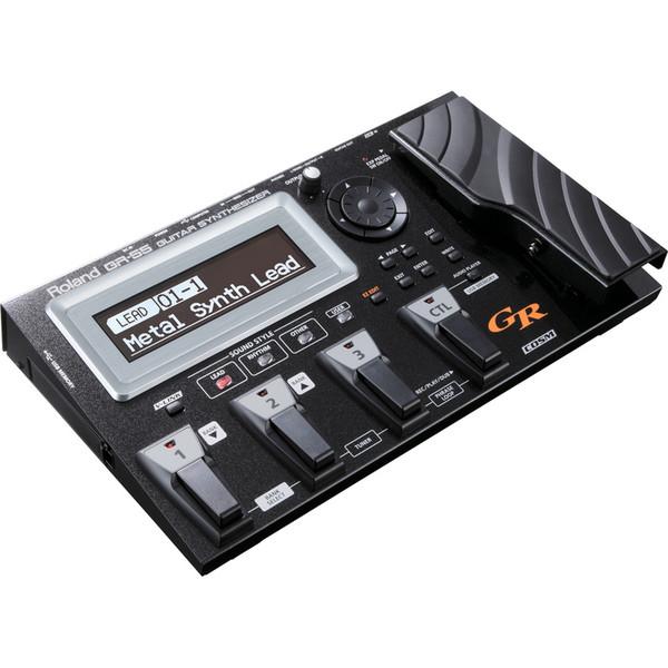 Roland GR-55GKBK Guitar Synthesizer (With Pickup) Black