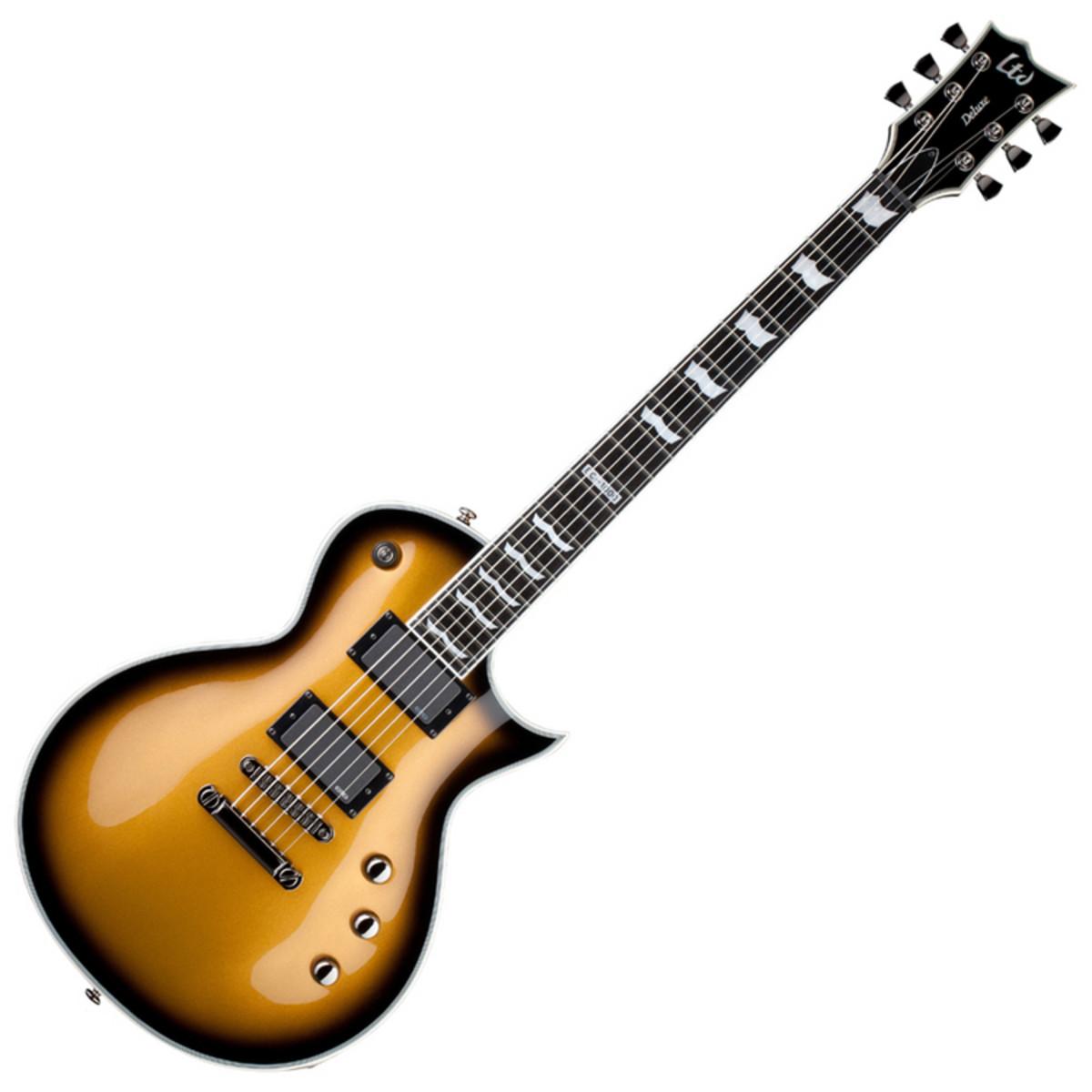 esp ltd ec 1000 guitar metallic gold sunburst at. Black Bedroom Furniture Sets. Home Design Ideas