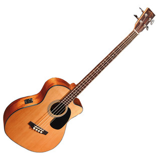 Sigma BMC-1STE Electro Acoustic Bass Guitar, Natural