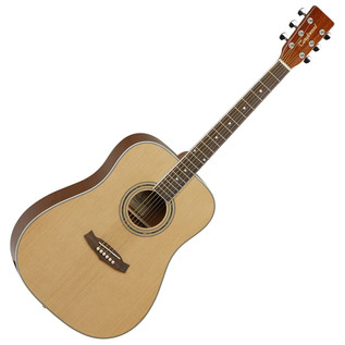 Tanglewood Discovery DBTDLXD Deluxe Acoustic Guitar Pack, Natural