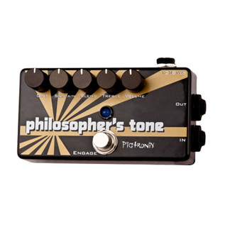 Pigtronix Philosopher's Tone Compressor / Sustain / Distortion Pedal