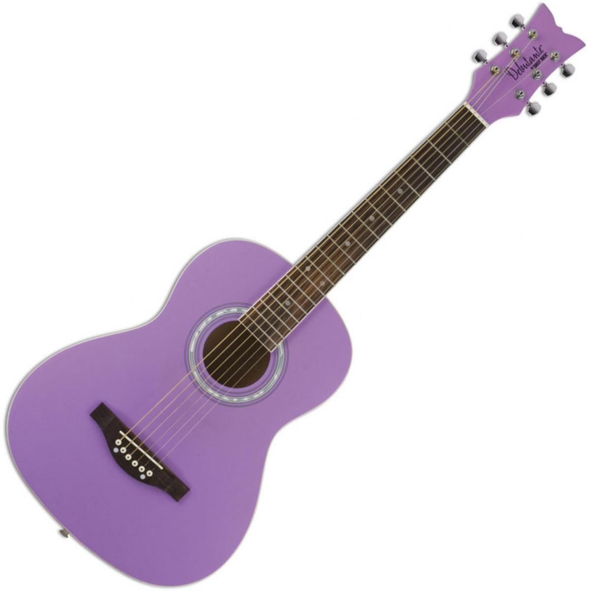 daisy rock guitare acoustique junior miss diapason court sucette violette. Black Bedroom Furniture Sets. Home Design Ideas