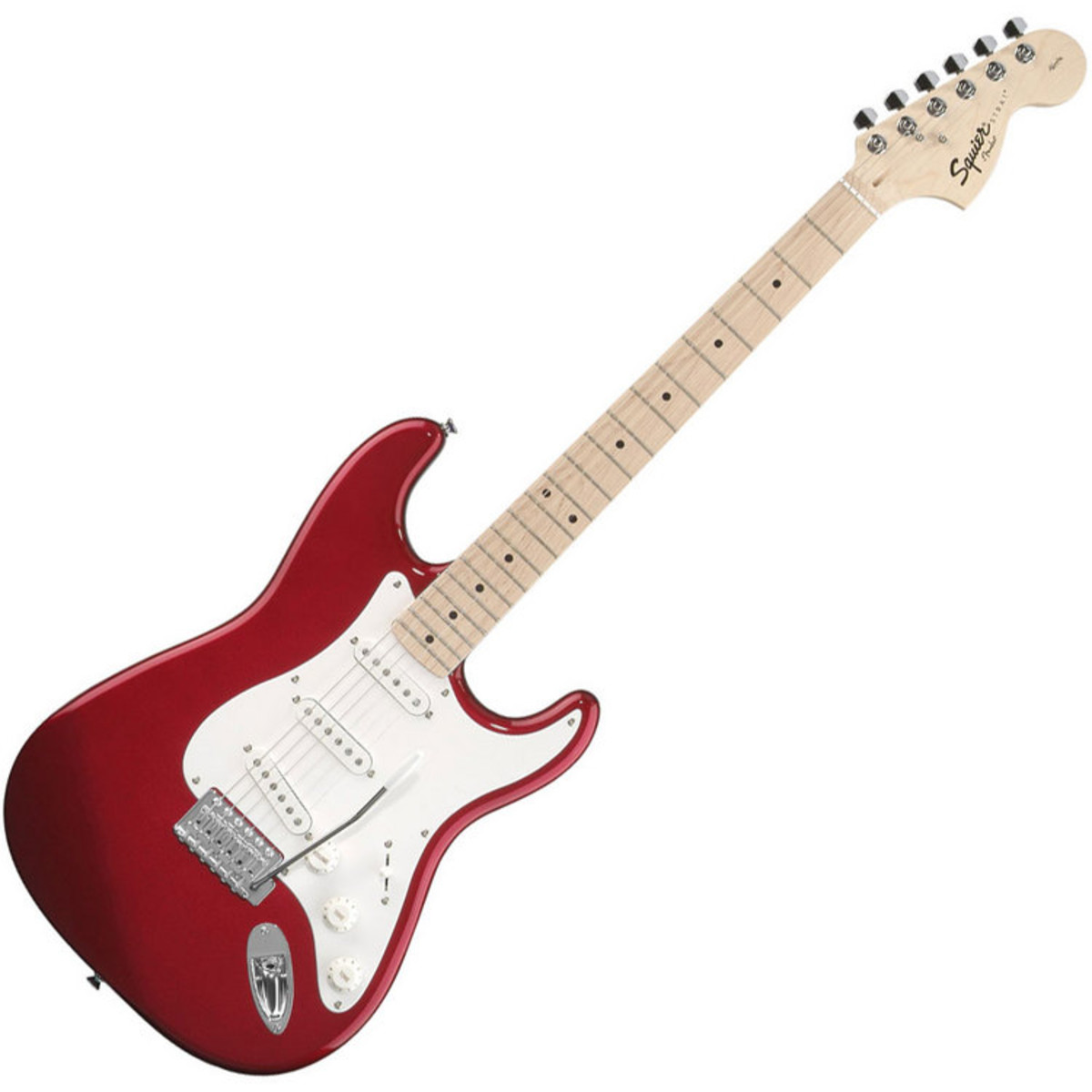disc squier by fender affinity stratocaster metallic red at. Black Bedroom Furniture Sets. Home Design Ideas