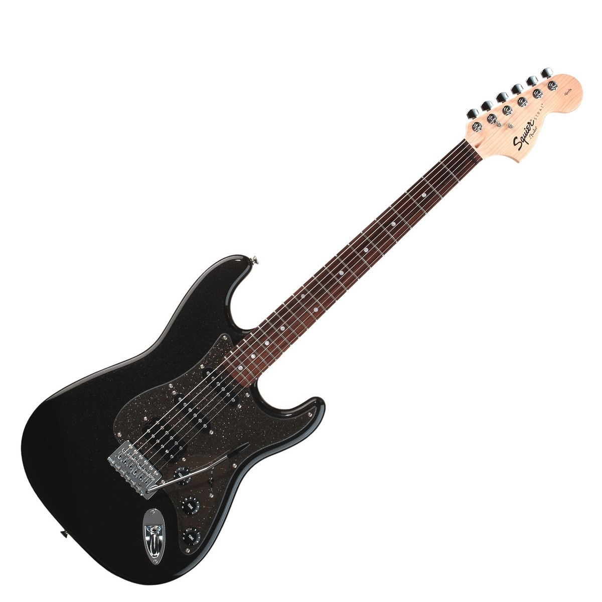 Squier Affinity Strat Wiring Diagram: Squier Affinity Series Fat Strat Electric Guitar Black