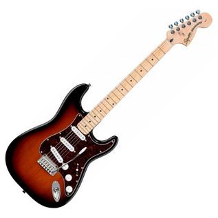Squier by Fender Standard Stratocaster MN, Antique Burst