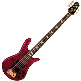 Spector Euro 5LX Bass Guitar, Black Cherry