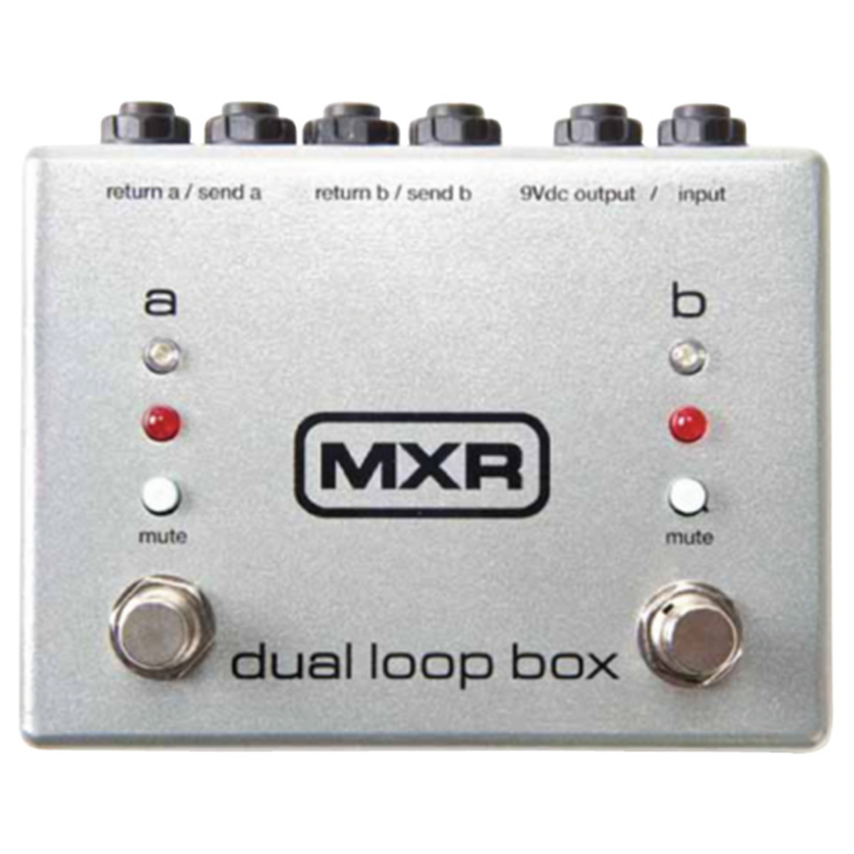 disc mxr dual loop box for guitar effects at. Black Bedroom Furniture Sets. Home Design Ideas