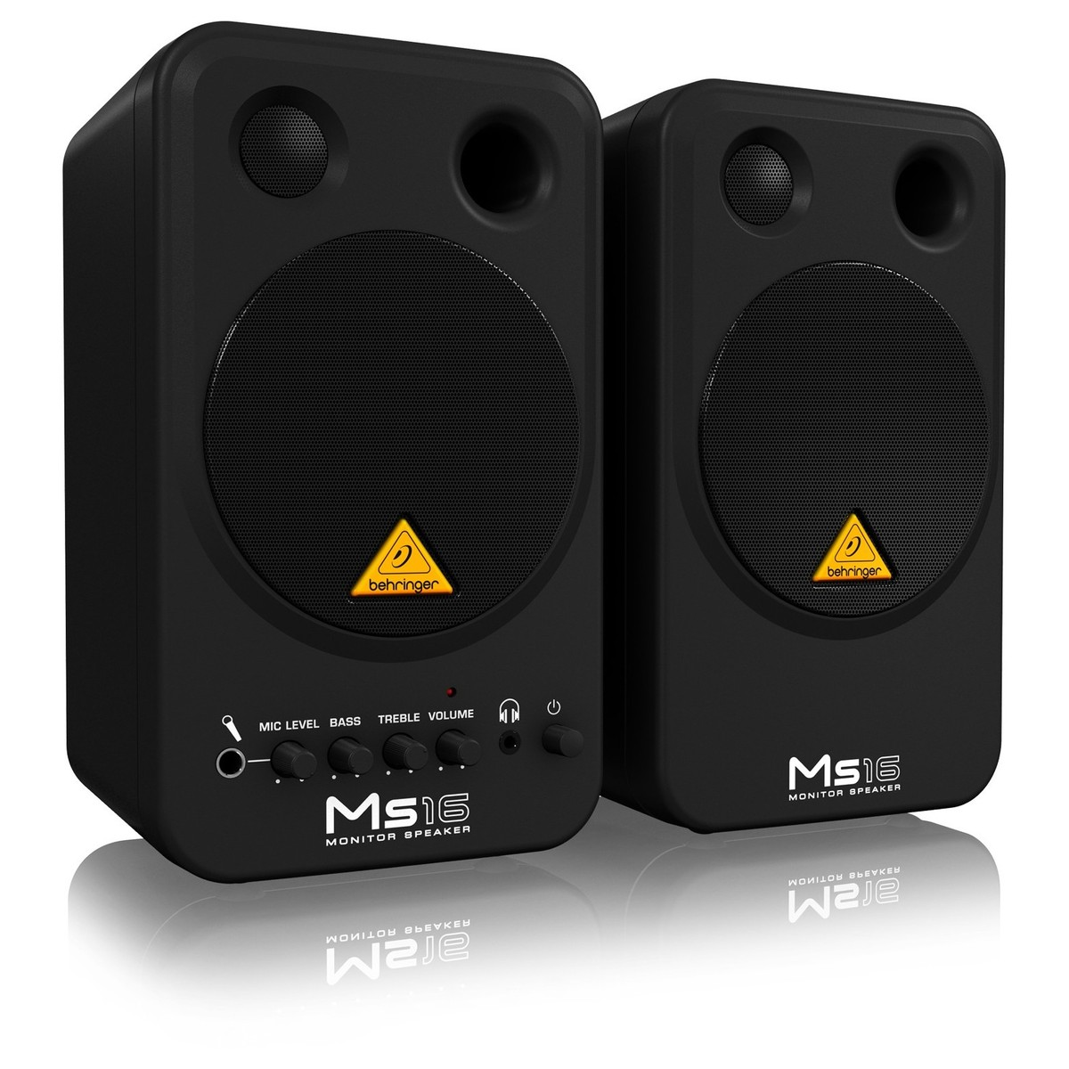 behringer ms16 studio monitors pair at. Black Bedroom Furniture Sets. Home Design Ideas